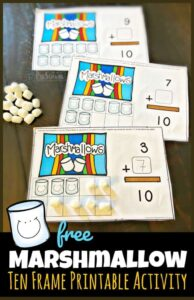 Marshmallow-Ten-Frame-Printable-Activity-663x1024