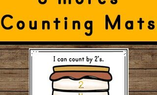This free printable S'Mores themed Skip Counting Activity is perfect for a summer or camping theme math activity for kindergarten, first grade, 2nd grade, 3rd grade and 4th grade students. Practice counting and tracing numbers is a great way for children to practice and improve their knowledge of the numbers and simple math skills.