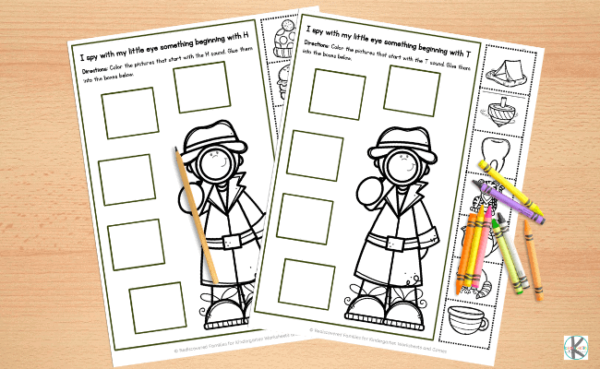 fun cut and paste worksheets for kindergarteners
