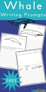 free whale writing prompts