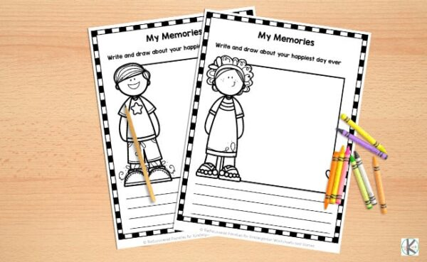 All About Me Worksheets Free Printable For Kindergarten
