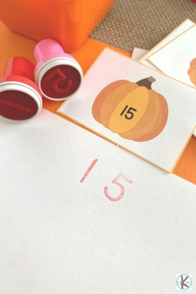 Number Stamps Activity
