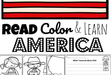 Children will have fun learning about the United States of America and its culture with these FREE Printable United States Coloring Pages perfect for preschool, pre k, kindergarten, first grade, 2nd grade, 3rd grade, 4th grade, and 5th grade kids.