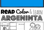 Children will have fun learning about the South American country of Argentina and its culture with these free printable, Argentina Coloring Pages for preschool, pre k, kindergarten, first grade, 2nd grade, 3rd grade, 4th grade, and 5th grade students.