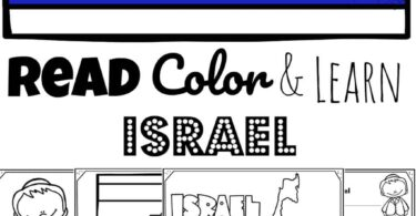 Help kids learn about the country of Israel, in the Middle East, with these free printable Israel Coloring Pages. These super cute free coloring sheets are perfect for preschool, pre k, kindergarten, first grade, 2nd grade, 3rd grade, 4th grade, and 5th grade kids. Grab the downloadable pdf, crayons, and start learning about landmarks, Israel flag, and shape of Israel.
