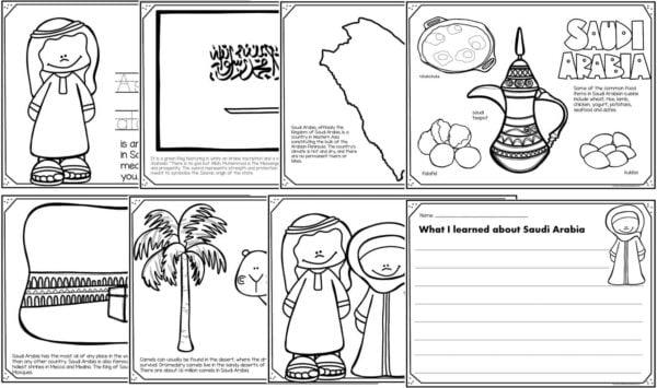 saudi arabia coloring pages