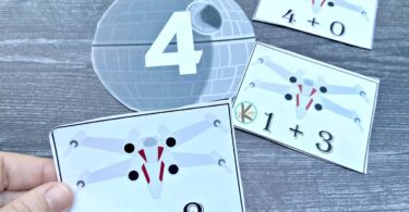 star wars printables to practice addition within 20 on may the 4th for star wars day