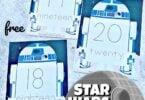 star wars theme math activity for kindergarten