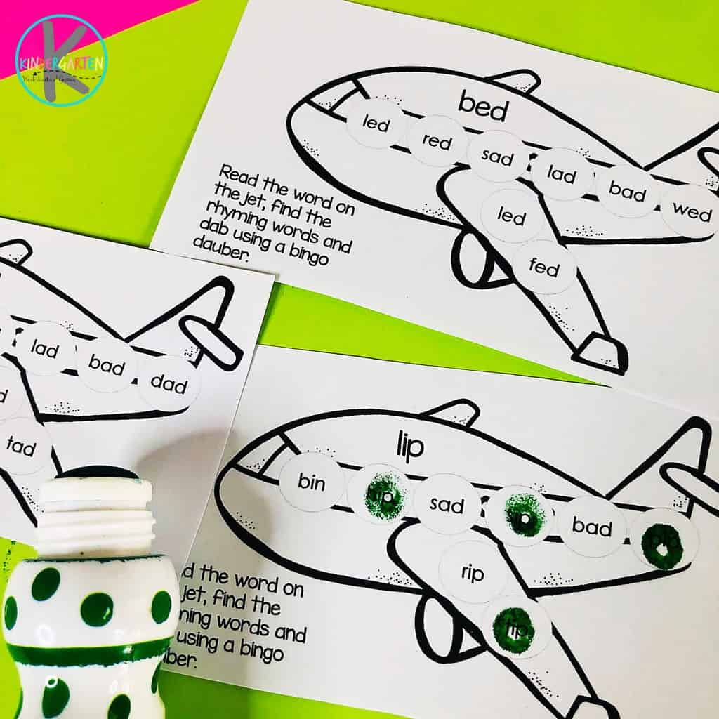 Airplane free do a dot printables that use bingo daubers