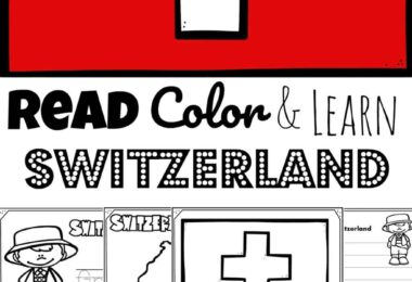Learn about Switzerland, a beautiful country in Europe landscaped by the beautiful Swiss Alps. Children will have fun learning about Switzerland and its culture with these FREE Printable Switzerland Coloring Pages for preschool, pre k, kindergarten, first grade, 2nd grade, 3rd grade, 4th grade, and 5th grade kids.