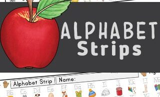 These fun and cheerful alphabet strips are a wonderful handy visual alphabet reference for your students. Having it close by, especially when working on their handwriting and letter formation, they can have a quick glance before proceeding. They are also great for children who are learning the order of the letters of the alphabet. Thesedesk alphabet strips include both upper and lowercase letters, alphabet picture with the same beginning sound, left and right hand reference, and are a free printable name plate for preschool, pre-k, kindergarten, and first grade students.