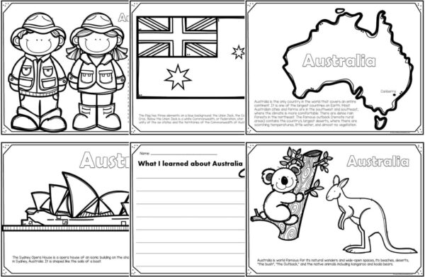 - Read Color And Learn About AUSTRALIA