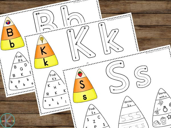 free candy corn printable
