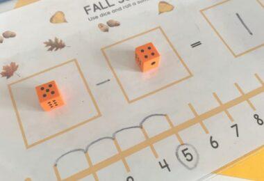 fall worksheets for kindergartners