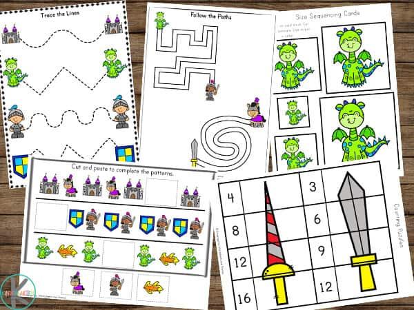 free perschool worksheets