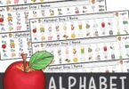 free printable alphabet strips