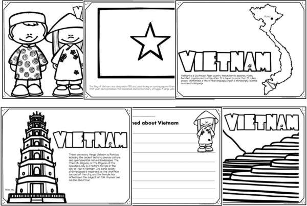 vietnam coloring pages