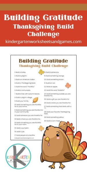 This free printableGratitude Challenge is a great family activity for November leading up to Thanksgiving. Simply download the pdf file with the 30 days of gratitude and go through the daily Thanksgiving challenges to help kids remember what they are grateful for this year. ThisNovember gratitude challenge is fun for preschool, pre-k, kindergarten, first grade, 2nd grade, 3rd grad, 4th grade, 5th grade, 6th grade, and older children as well.
