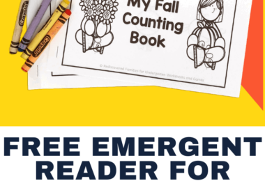 : It is time to celebrate Fall with our FREE Fall emergent reader. This simple book will give early readers a chance to practice number recognition, number tracing, colors and counting up to 10.