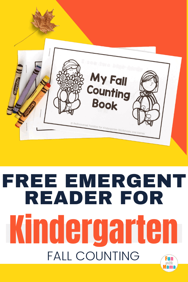 Free Emergent Reader A Printable Book About Fall For Kindergarten