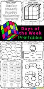 Days of the Week Worksheet