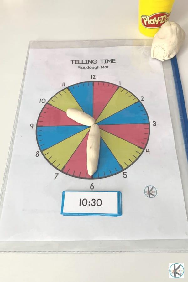 Kindergarten Telling Time