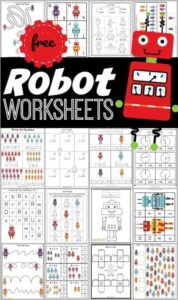 robot worksheets