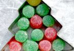 Gumdrop Christmas tree stem activity