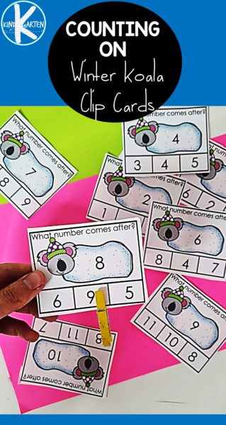 Looking for a fun way to get kids to learn number order? These winter themed what comes next clip cards are perfect for that! Learners will use dry erase markers or magnetic numbers, and then skip clip the number that comes next.