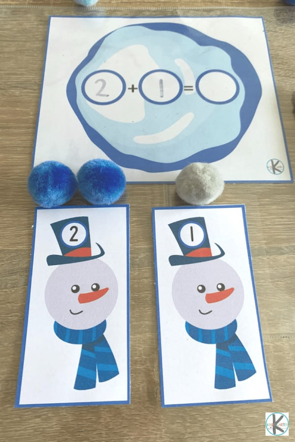 Winter math activities for preschoolers