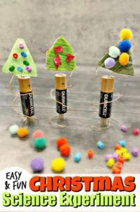 Christmas science experiment