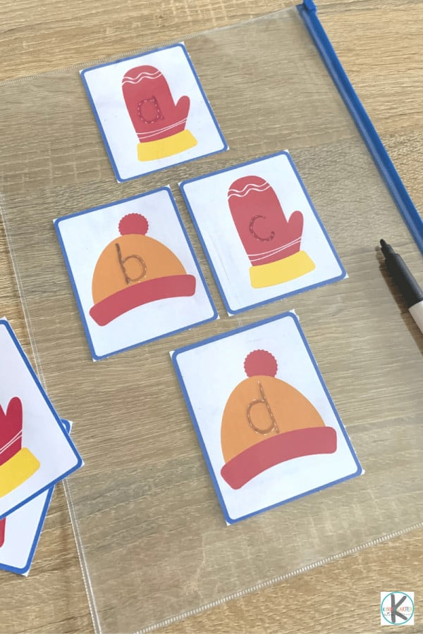 letter tracing activity for preschoolers