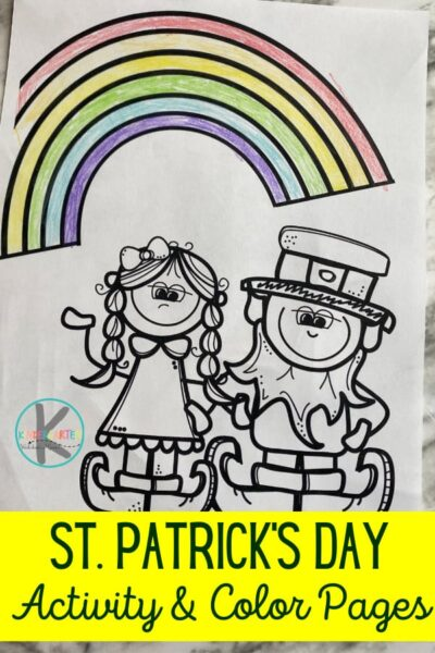 Kids of all ages will love to color these super cute St Patricks Coloring Pages. Not only are they fun st patricks day activities for March, but they are great way for kids to strengthen hand muscles they will need to begin writing letters and words.  These st patrick's day coloring sheets also include activity sheets for kids to complete the picture. Use these st patrick's day printables for your st Patricks Day Kindergarten theme. Simply download pdf file with Free st patrick's day coloring pages and you are ready to play and learn!