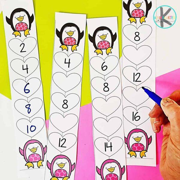 Skip Counting Printable