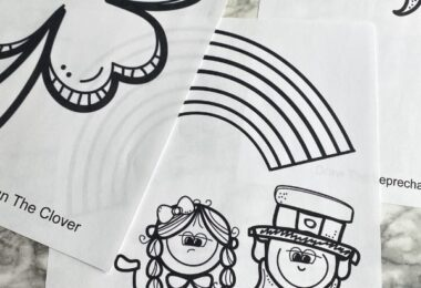 St patrick's day coloring sheets