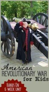 american revolutionary war for kids