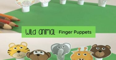 finger puppet template printable