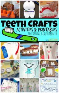 teeth crafts