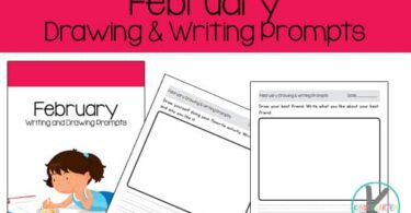 writing promtps for february