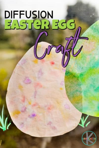 Looking for a fun, simpleeaster egg craft to try this April? Kids will love making theseeaster egg suncatchers to brighten their windows and make their room extra cheery. You will love that thiseaster craft for kindergarten, preschool, pre-k, toddler, and first garders is super easy and has such a fun technique with a really cool effect.