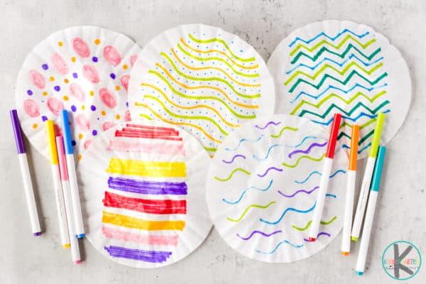 Easter craft for kindergarten