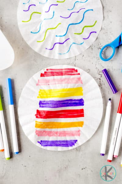 Easter egg crafts for preschoolers