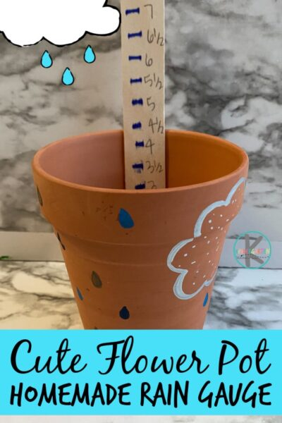 Teach kids how to measure rainfall with thishomemade rain gauge. ThisDIY Rain gaugeis simple and fun to make with kids of all ages from preschool, pre-k, kindergarten to elementary age students in first grade, 2nd grade, and 3rd grade too. Use thishow to make a rain gauge as part of akindergarten weatherunit!