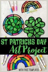 St-Patricks-Day-Shamrock-Art-and-Craft-Project-for-Kids-black-glue