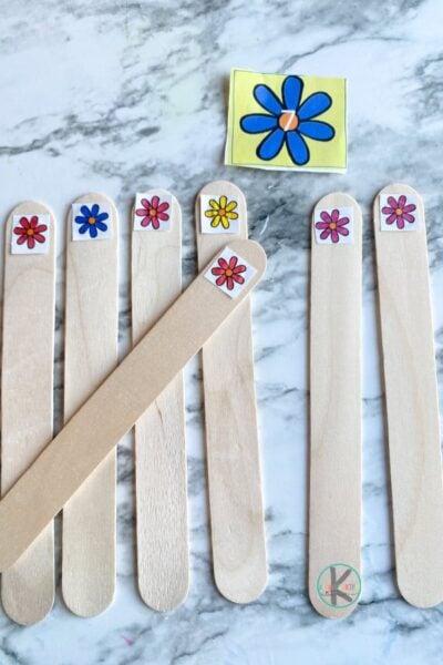 Teaching tally marks to kindergarten