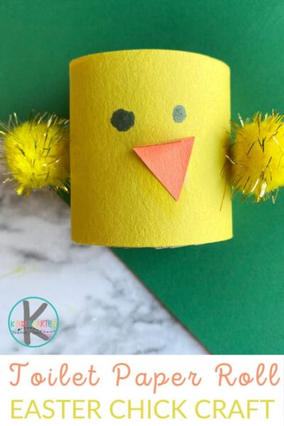 super cute toilet roll chicks is a fun spring crafts for preschoolers, toddlers, kindergartners, and grade 1 students using simple supplies you probably already have on hand. This cute chick craft is a fun way to celebrate Easter and Spring with kids.