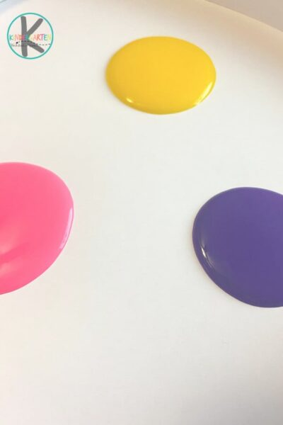 easter painting project for toddlers