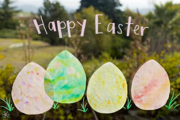 happy easter craft