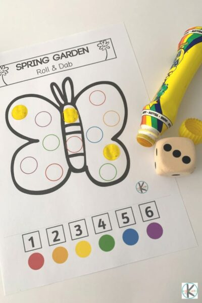 printable spring activities for toddlers