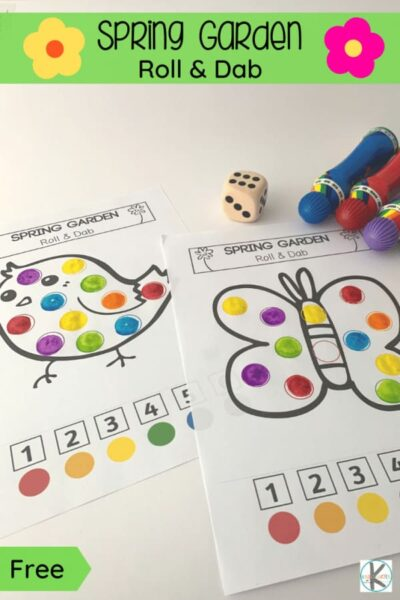 Spring is on its way! Time to get out in the garden and celebrate the warmer weather, pretty flowers, butterflies, baby birds, and lovely sunny days of springtime! These cutespring worksheets are a fun way for toddler, preschool, pre-k, and kindergarten to work on numbers, colors, and make pretty spring activity sheets with do a dot markers! Siimply print pdf file withspring printables and you are ready to play and learn!